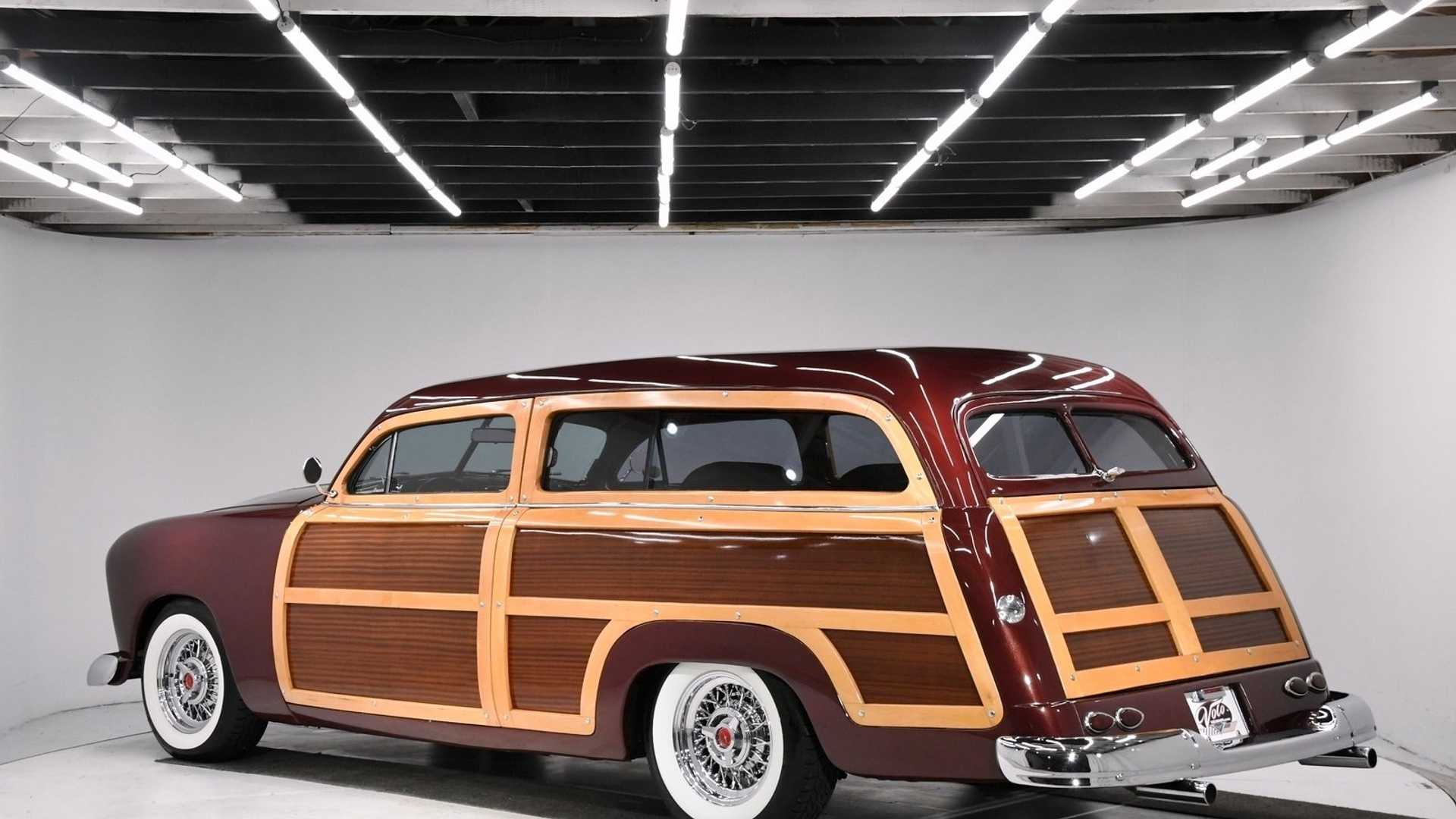 "[""Impressive Turbocharged 1949 Ford Country Squire Station Wagon""]"