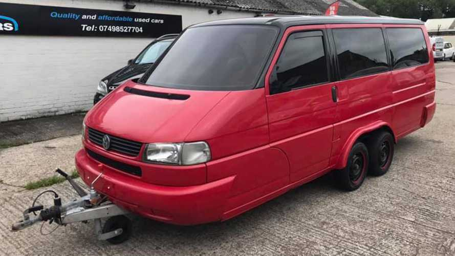 VW Transporter Becomes True Camper Van With Secret Under The Hood