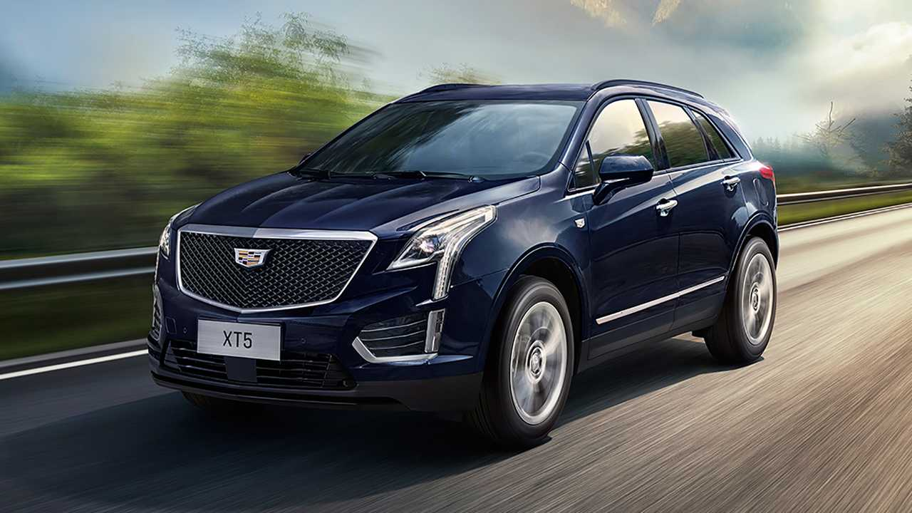 Cadillac XT5 Facelift Lead