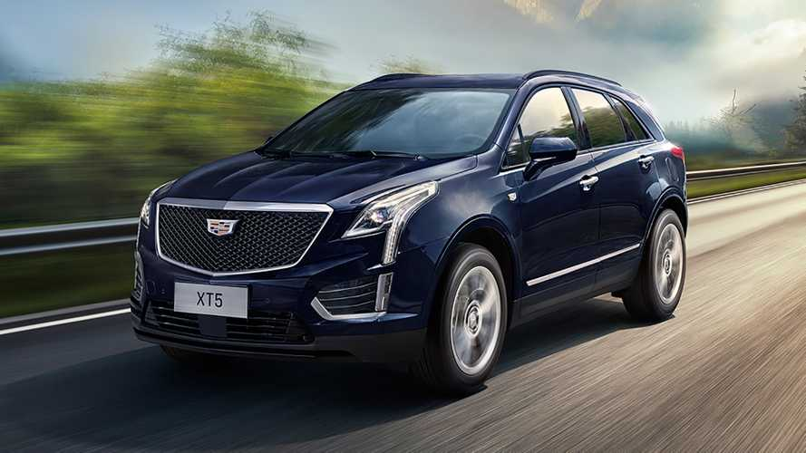 Cadillac XT5 Gets Minor Update In China