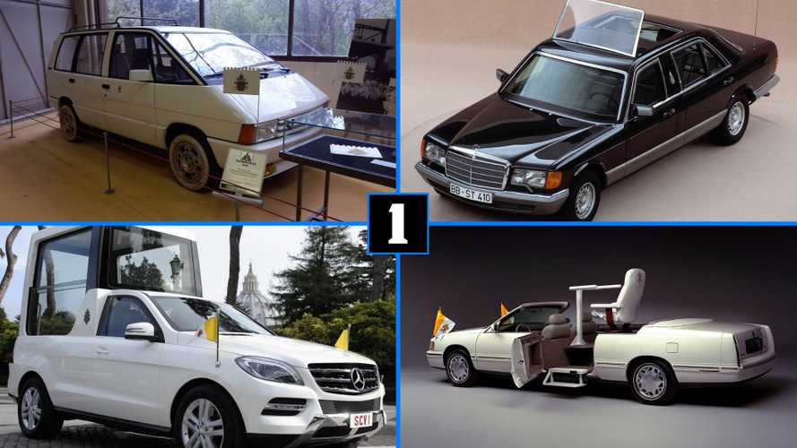 From Seat To Mercedes, See The Evolution Of The Popemobile