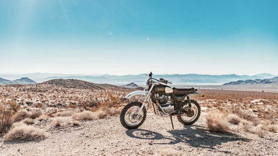 This Custom Royal Enfield Desert Runner Ain't Afraid Of No Dirt