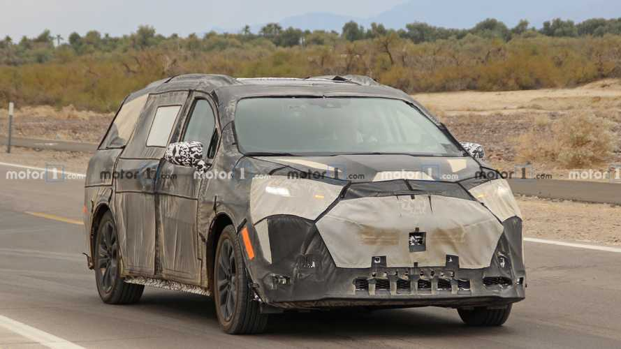 Next-Gen Toyota Sienna Minivan Spied For The First Time