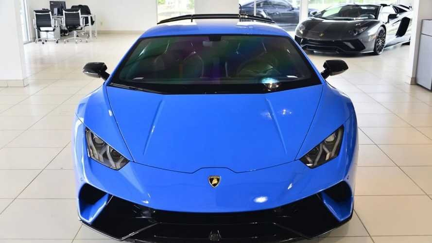 Own This Like-New 2018 Lamborghini Huracan Performante