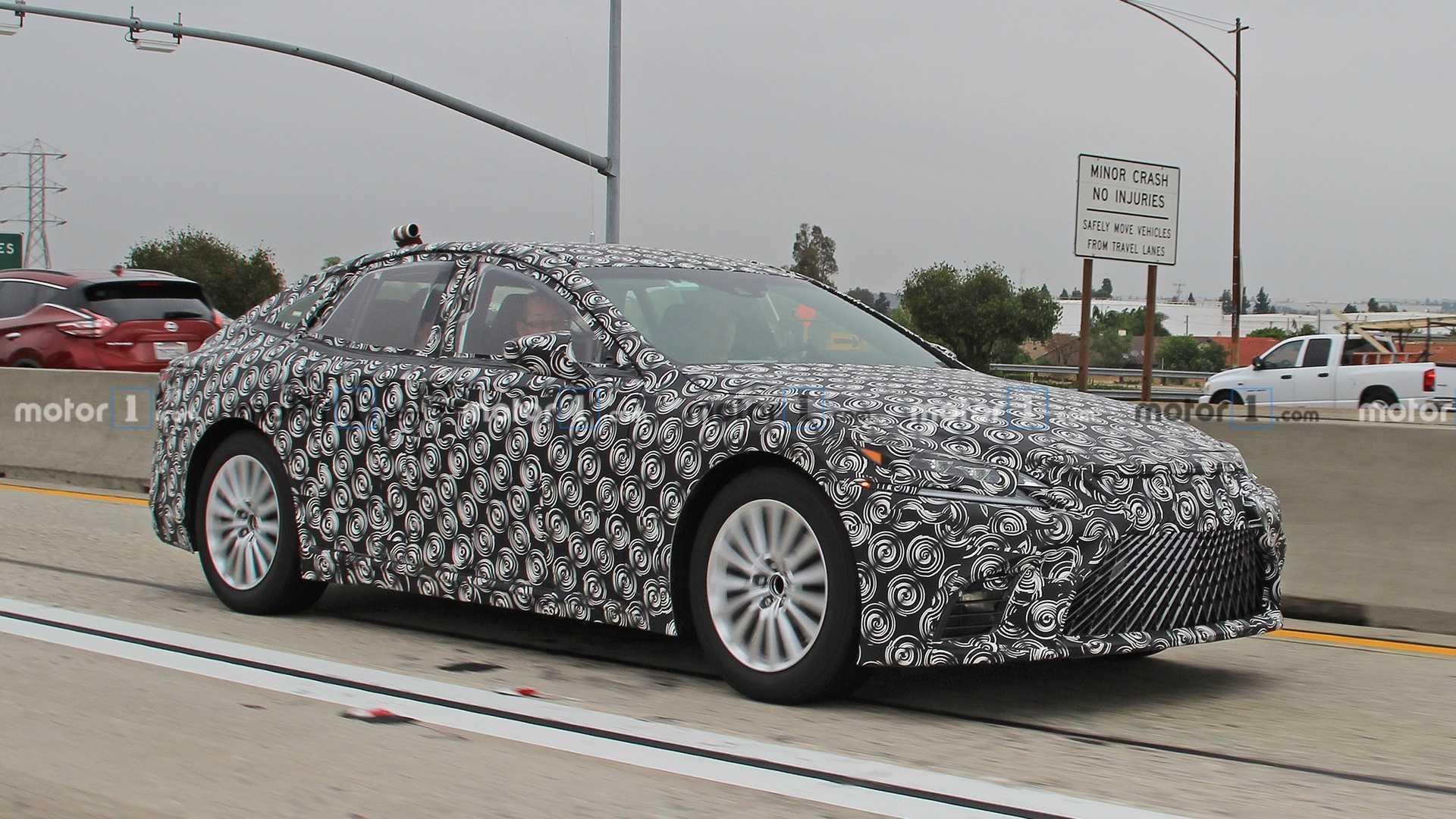 Lexus LS Hydrogen Fuel Cell Prototype Spied Testing, Coming Soon
