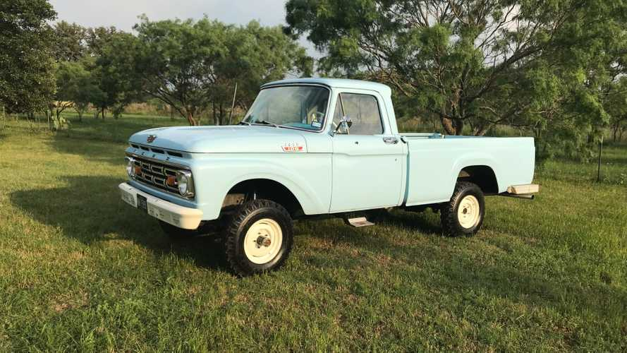 Time Capsule F-100 Is Up For Grabs With Incredible Details