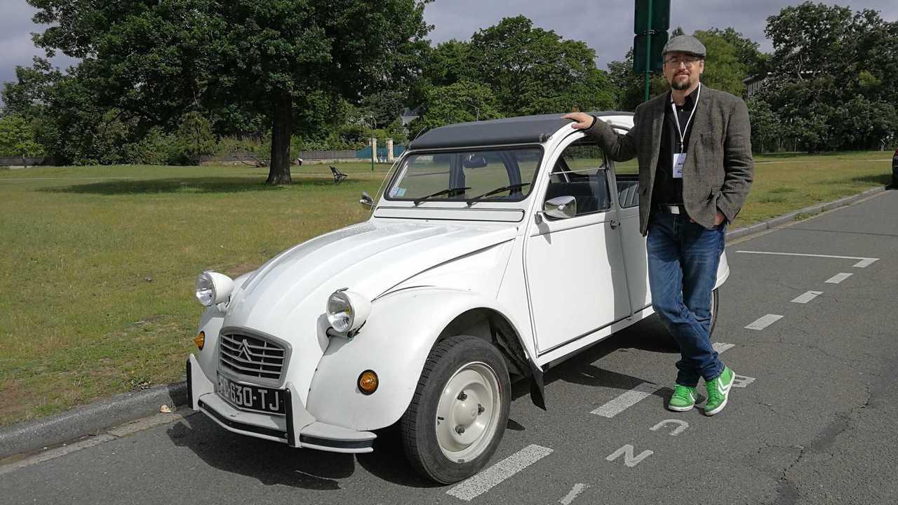 Zeitreise im Citroën 2CV