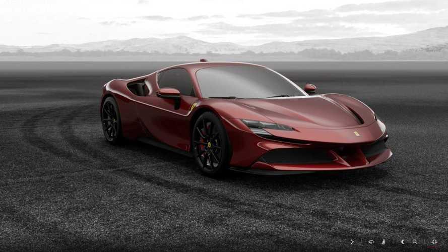 Le configurateur de la Ferrari SF90 Stradale est en ligne !