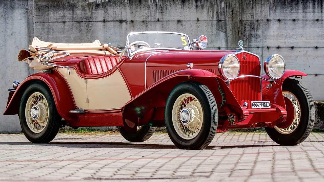 Fiat 522 C Torpedo Sport Viotti (1931) - 518'625 euros