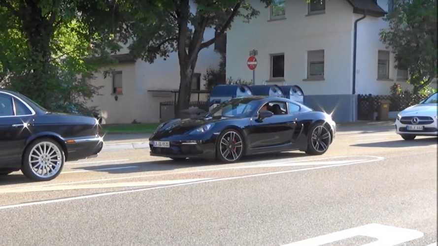 Porsche 718 Cayman, 718 Cayman GT4 Spy Video Screenshots