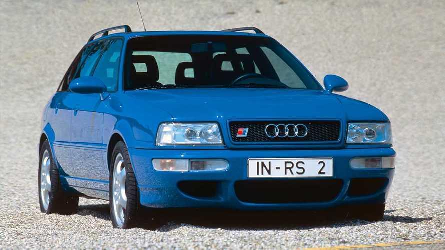 25 años de las versiones RS de Audi