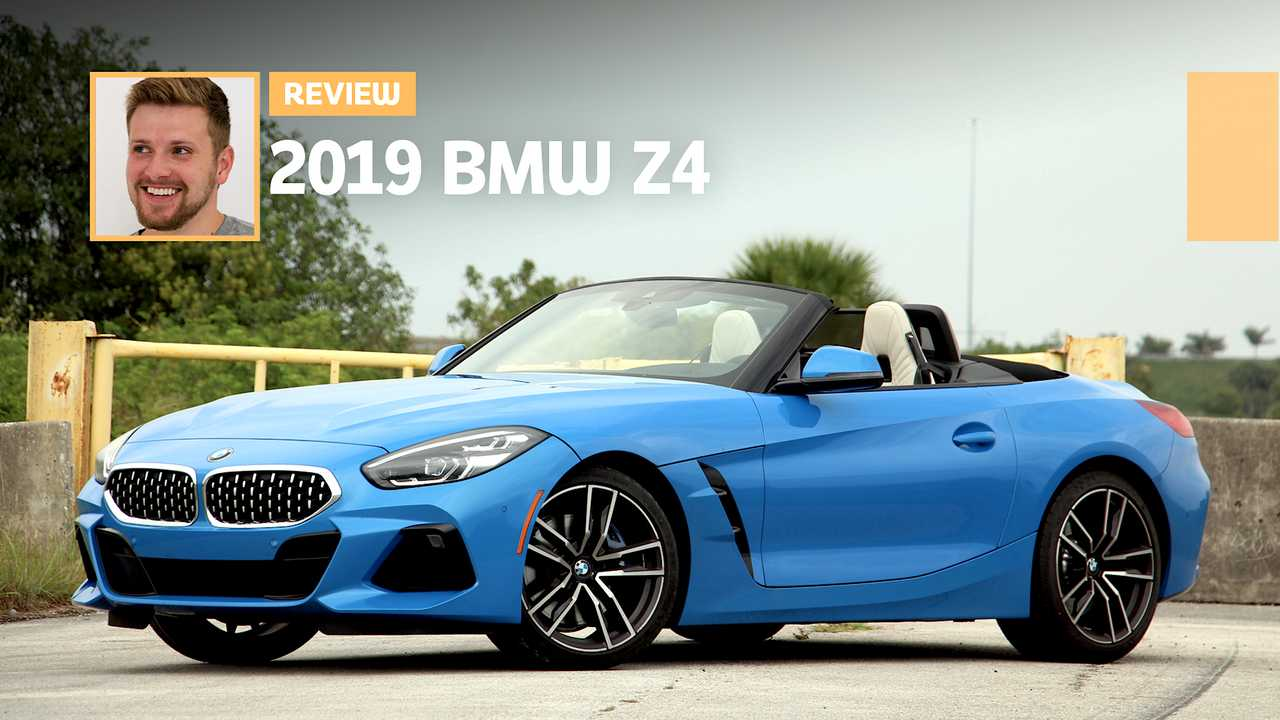 2019 Bmw Z4 Sdrive30i Review Top Down Thrill Up