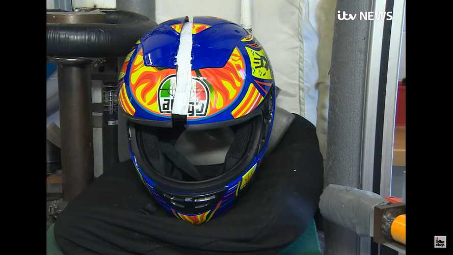 Watch A Fake Helmet Crack Like An Egg In Testing
