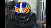 counterfeit motorcycle helmet test video