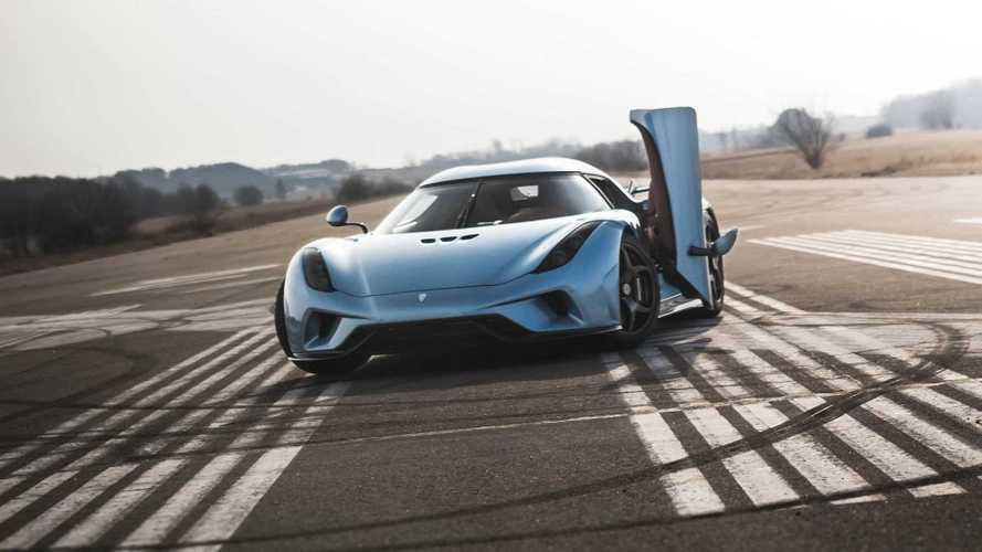 VIDÉO - L'accélération de la Koenigsegg Regera a de quoi surprendre