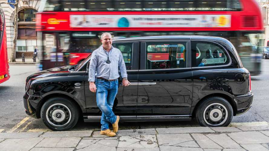 First London Electric Black Cab Delivered To Driver