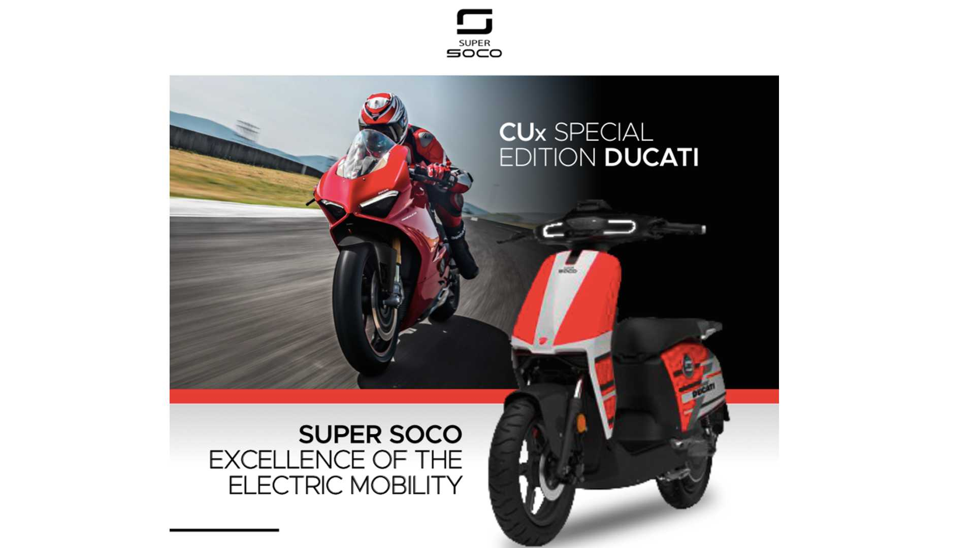Ducati Releases First Electric Model   A Chinese Scooter