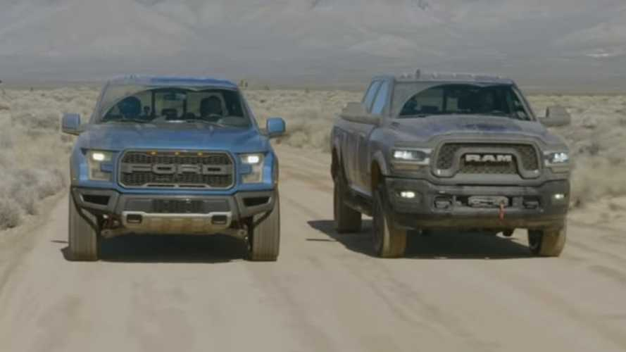 Ford F-150 Raptor, Ram Power Wagon Meet In Off-Road Duel