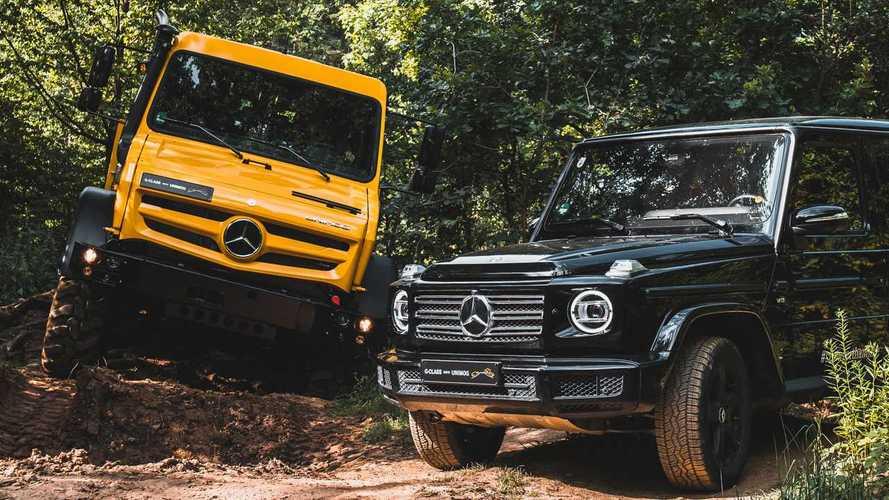 Mercedes-Benz Unimog vs. Mercedes-Benz Clase G, la batalla en vídeo