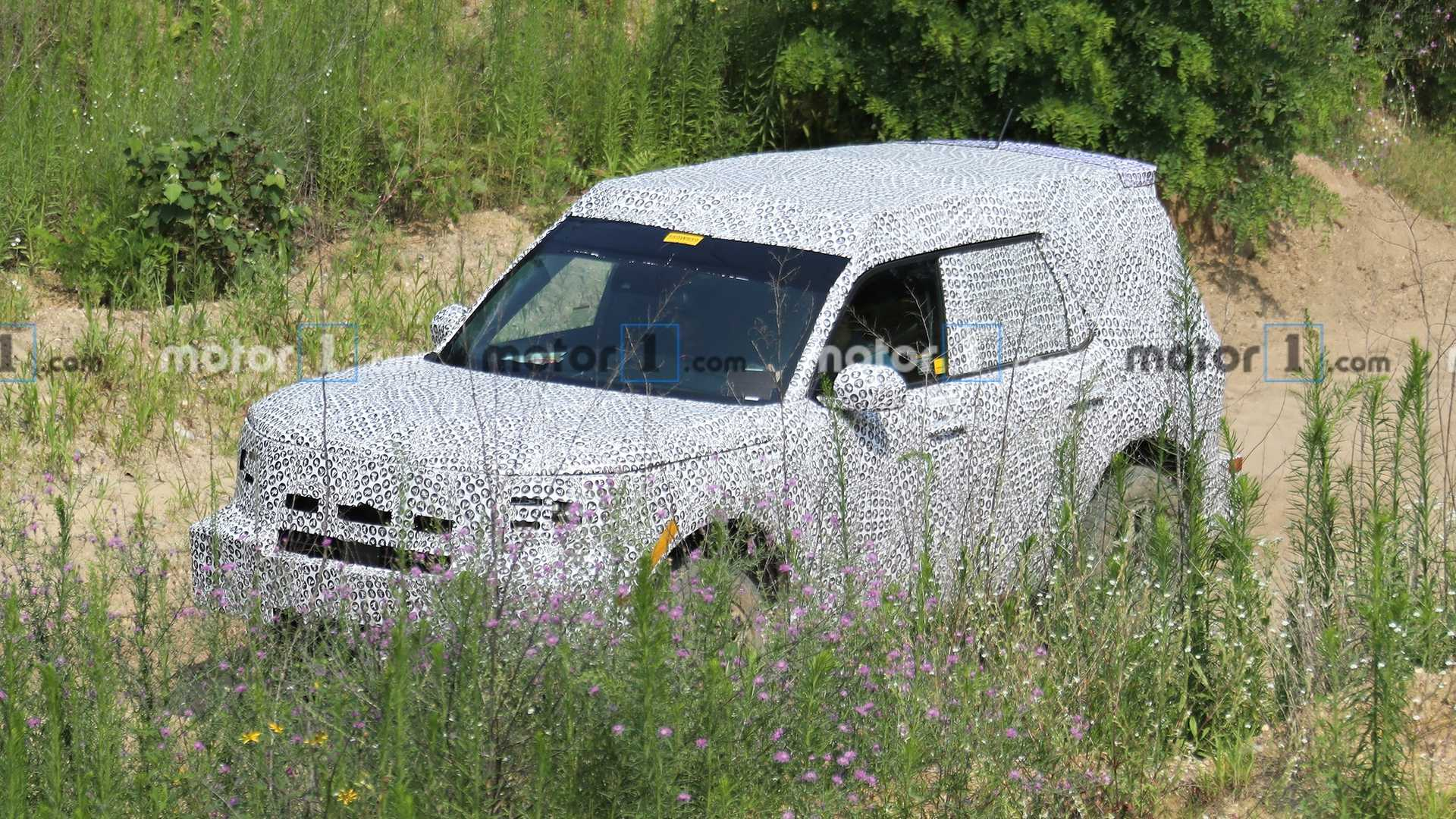 Ford Baby Bronco Spied For First Time, Could Be Called