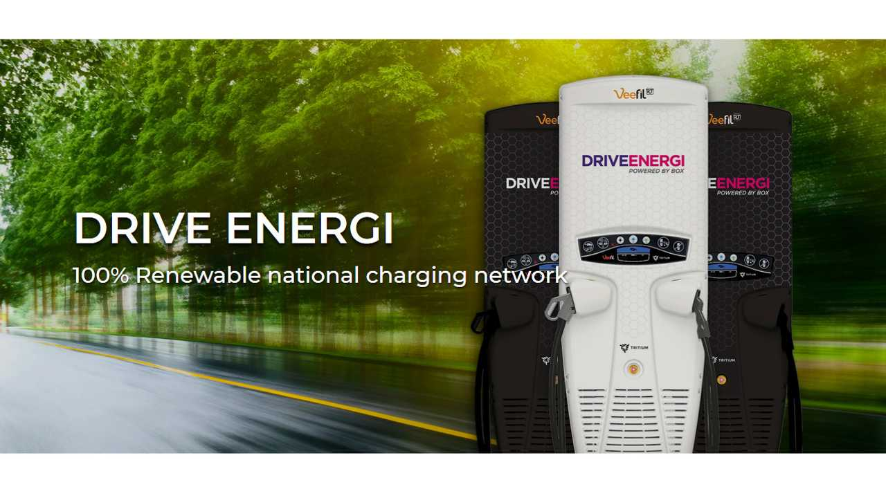 Drive Energi charging network