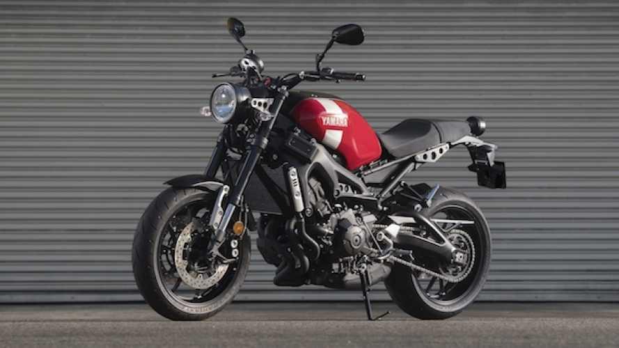 Yamaha XSR700 e XSR900: per il 2018 puntano sul rosso
