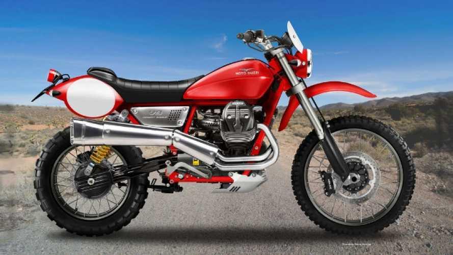 Moto Guzzi V9 Desert Eagle by Oberdan Bezzi