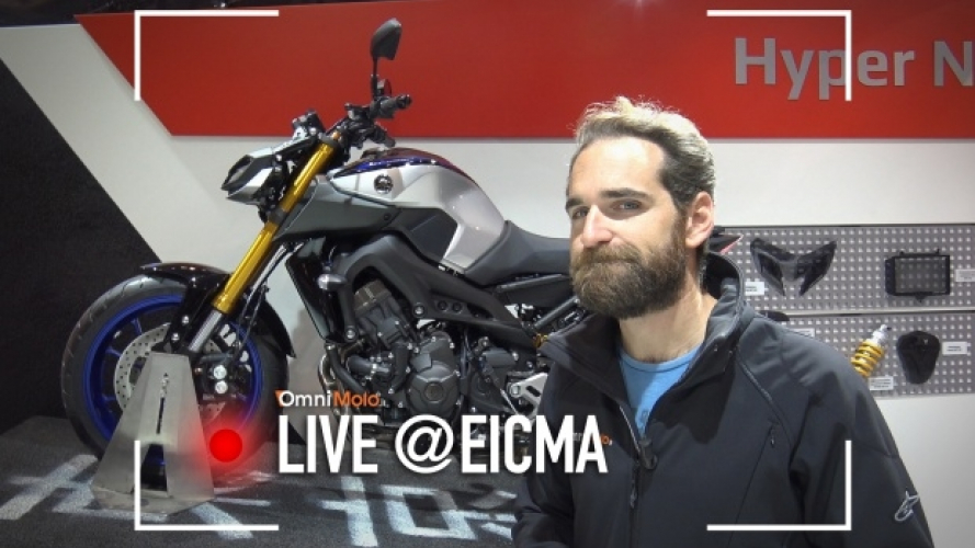 Yamaha MT-09 SP 2018, la nuda affila gli artigli [VIDEO]