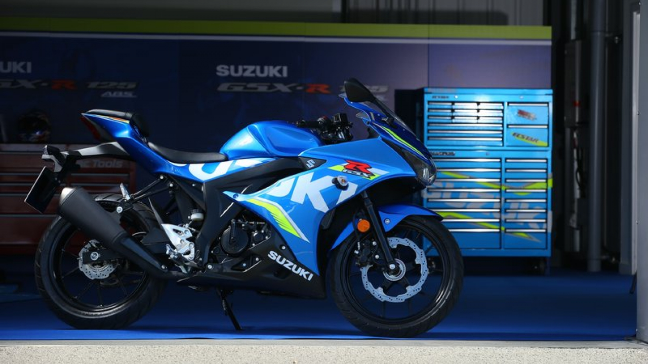 Suzuki al Motor Bike Expo 2018
