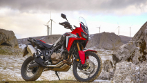 Honda Africa Twin 2018, TEST