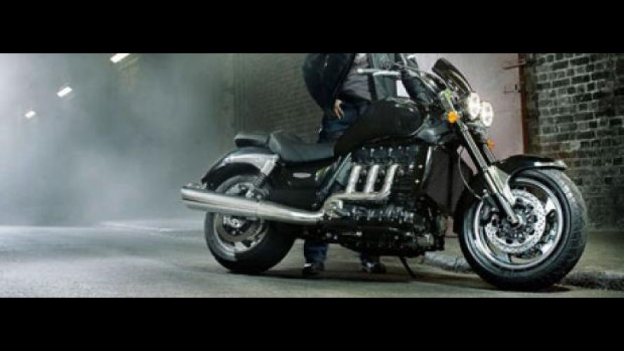 Triumph Rocket III Roadster 2010