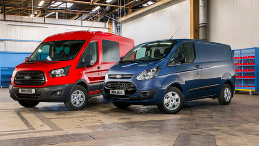 Ford a Transpotec con Transit e Ranger