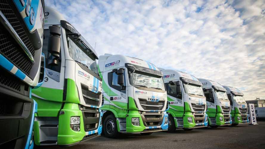 Camion a metano liquefatto, ora LC3 utilizza anche il biogas