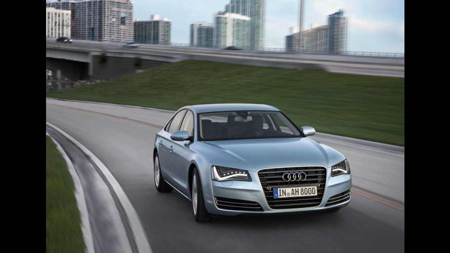 Audi A8 hybrid, i prezzi