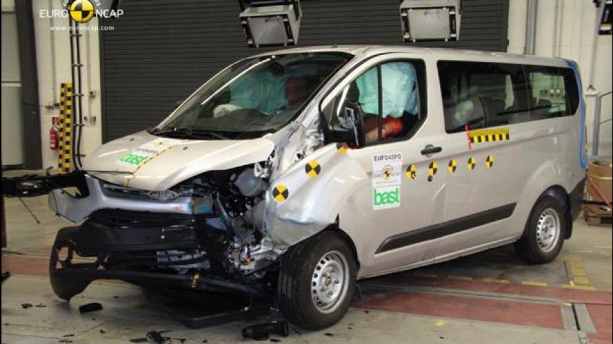 Euro NCAP: sei veicoli commerciali alla prova