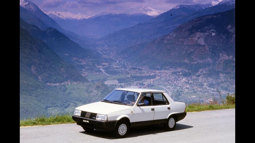 Fiat Regata ES, la prima con lo start/stop