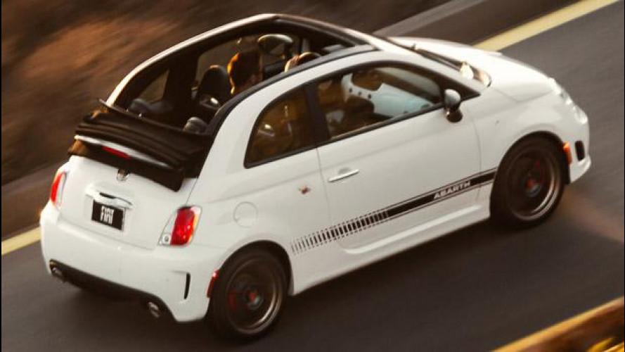 Fiat 500C Abarth, la Cabriolet dello Scorpione arriva negli USA
