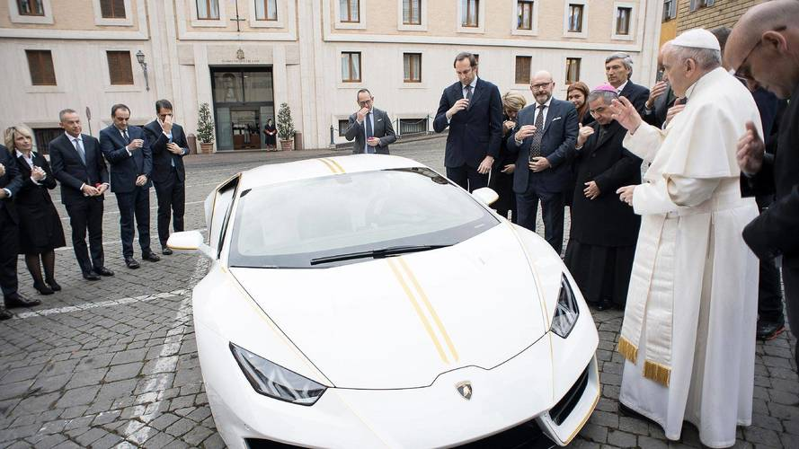 Holy Cow: This Lamborghini Huracán Has The Pope's Blessing