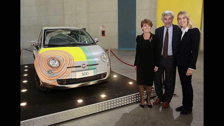 "Fiat 500 ""secondo"" Tobias Rehberger"