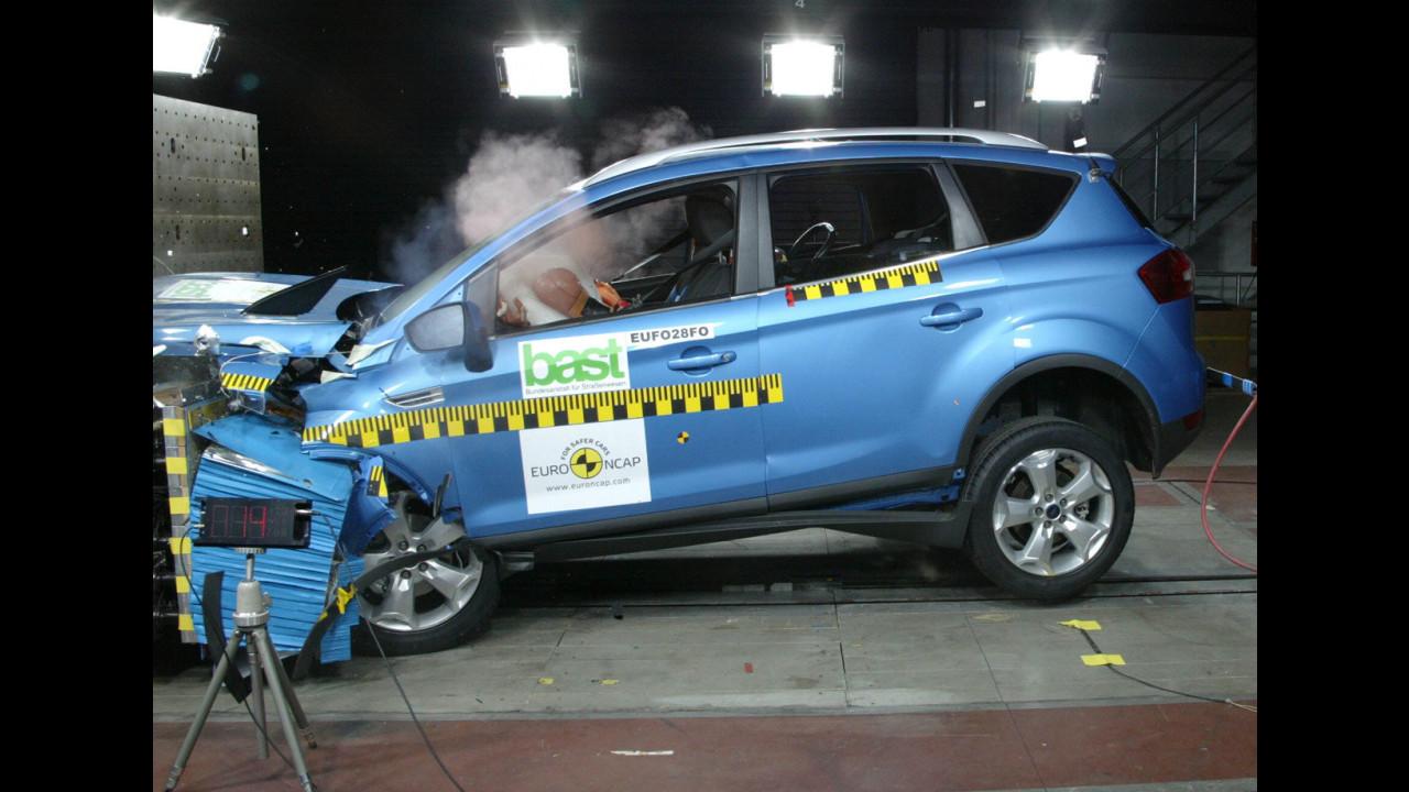Crash Test di Ford Kuga