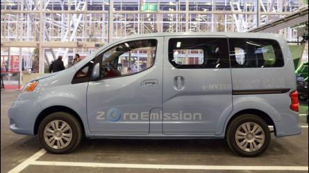 Motor Show 2012: il Nissan e-NV200 c'è