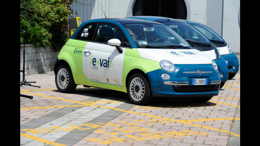 Car sharing: in Lombardia cresce e-vai