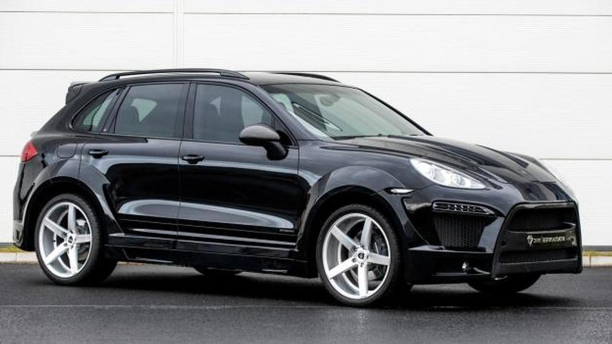Onyx Concept introduces the Porsche Cayenne OTS Edition