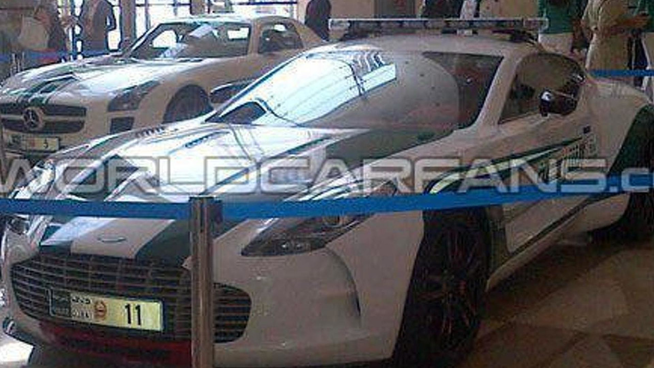 Aston Martin One 77 Dubai Police Fleet 06 05 2013 878316