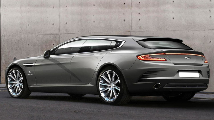 Aston Martin Rapide Shooting Brake by Bertone breaks cover
