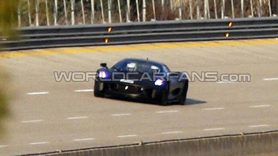 Jaguar C-X75 spied, still canceled
