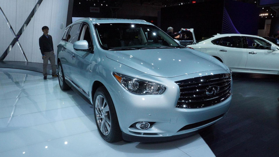 2014 Infiniti QX60 Hybrid shows the greener side of New York