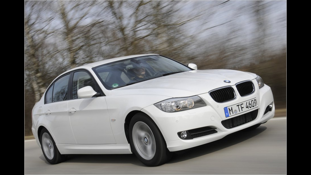 Mittelklasse, 2. Platz: BMW 3er