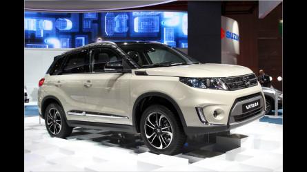 Autosalon Paris Neuer Suzuki Vitara Lifestyle SUV