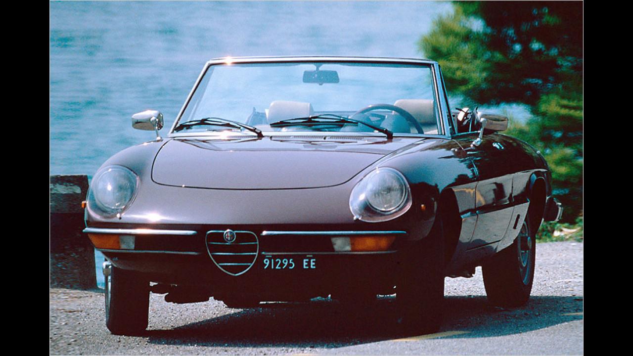 Platz 13: Alfa Romeo Spider, 3.302 Fahrzeuge mit H-Kennzeichen